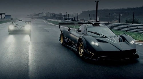 Pagani Zonda R Screen Captures
