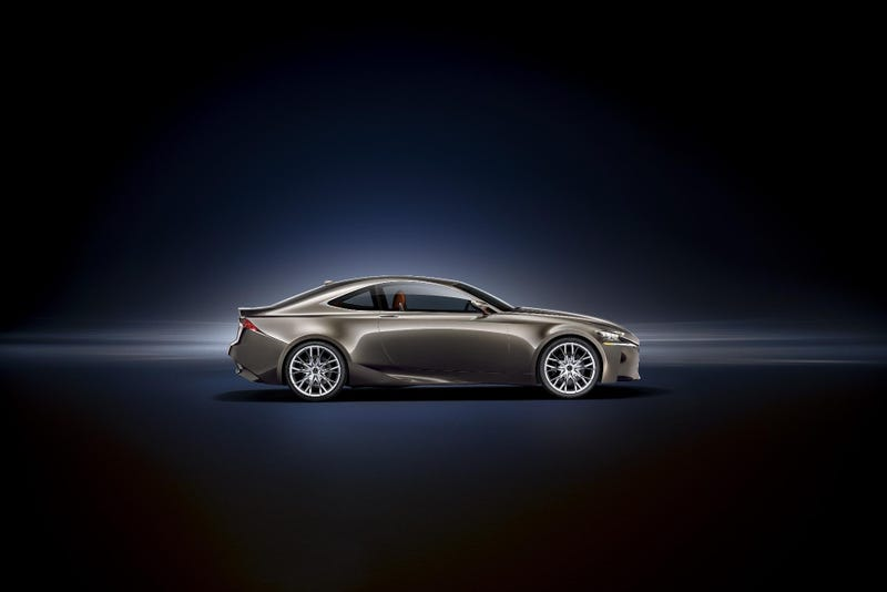 Lexus LF-CC Concept: First Photos