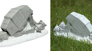 Skip the Gnome and Put a Fallen AT-AT On Your Lawn