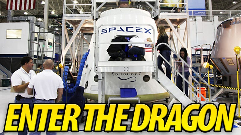 The First Look Inside America's First Private Spaceship