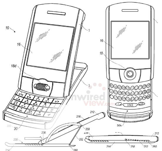 New RIM Patents Hint at New Blackberry Form Factors, Advanced Multi-Touch Displays
