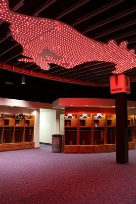 SMU's New Locker Room Is A Strip Club