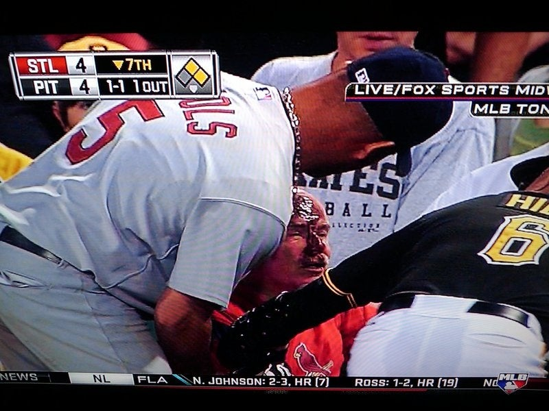 And It's Albert Pujols To The Rescue Again