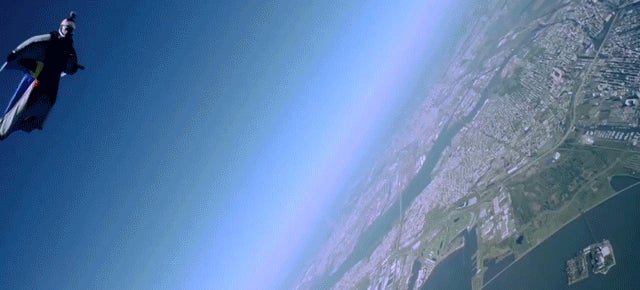 You've Never Seen Manhattan Until You See It Falling Out Of A Plane