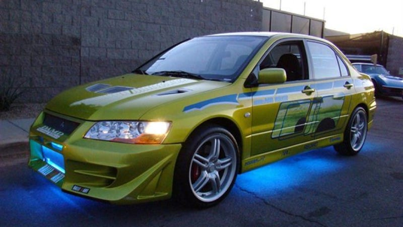 Now You Can Own Paul Walker's Mitsubishi Evo From 2 Fast 2 Furious