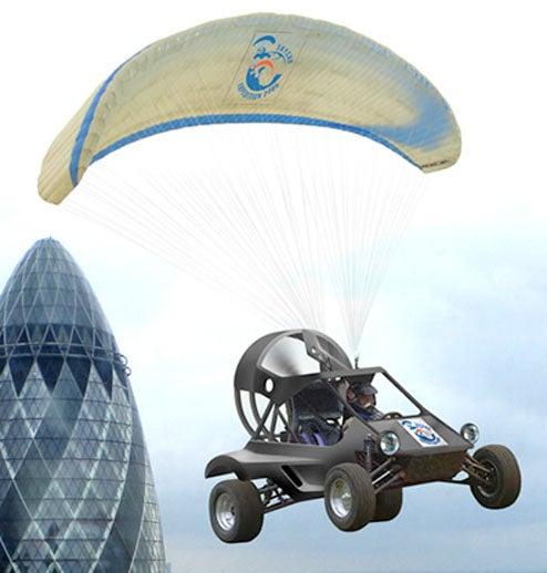 British Adventurer to Traverse Europe, Africa in His Amazing Skycar