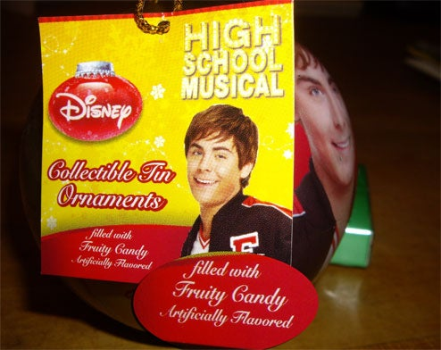 Zac Efron: The Fruity Keepsake Ornament