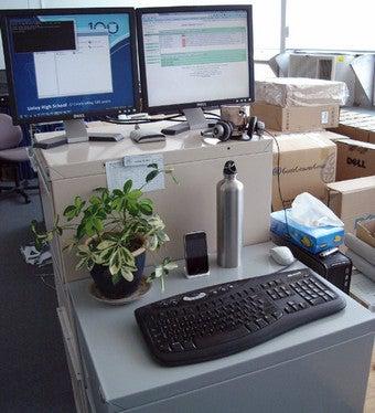 The File Cabinet Standing Desk