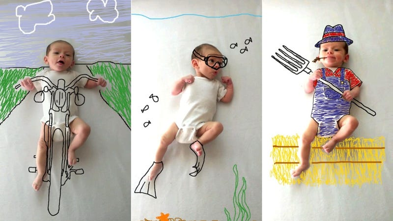 Using MS Paint to Show the Imagination of a Child Is So Adorable