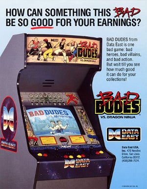 Are You Bad Enough For Data East Arcade Classics?