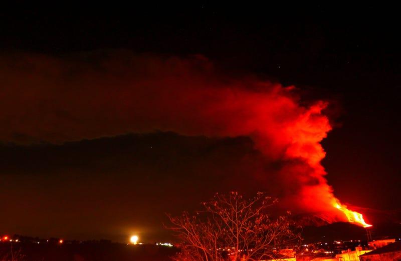 The fury of Mount Etna reawakened