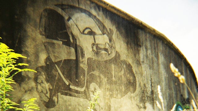 Reverse Graffiti Cars Gallery