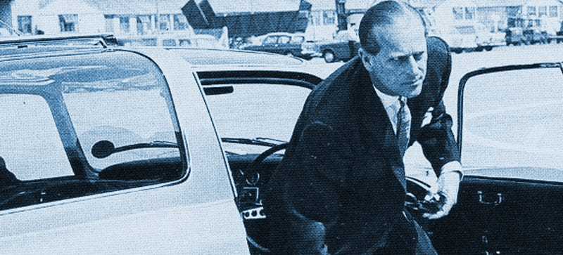 This Is The Worst Picture Of A Duke Exiting A Car In All Of Motoring