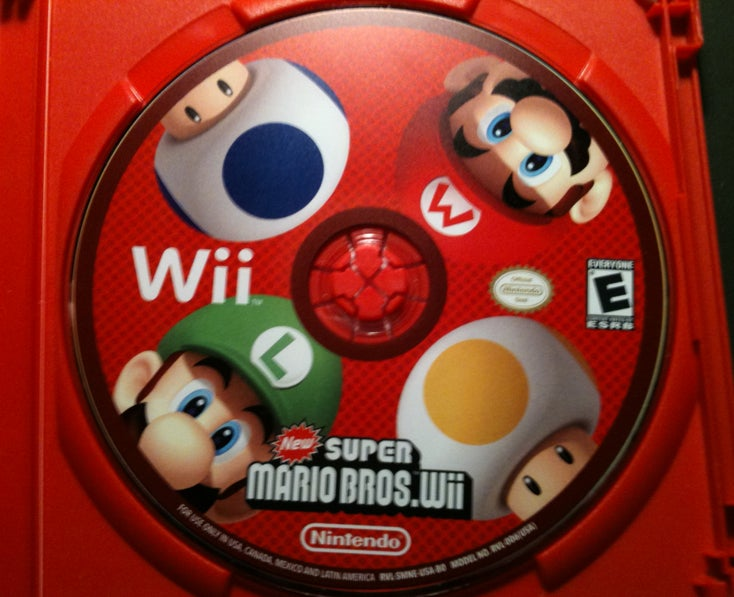 New Super Mario Bros. Wii Already Standing Out Here