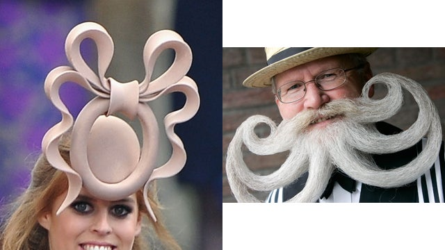 The Rorshach Test For Princess Beatrice's Hat