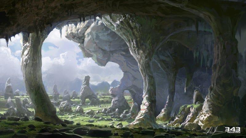 26 Terrific Pieces of Halo 4 Concept & Promotional Art