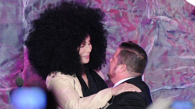 Here Is an Amazing Photo of Cher and Chaz Bono From the GLAAD Awards