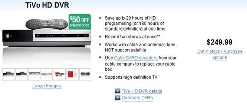 TiVo HD Disappears, Making Room For _______