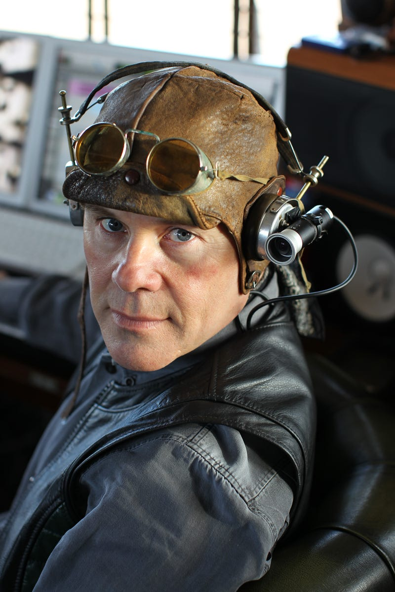 Synthpop legend Thomas Dolby takes us to a dieselpunk dystopia for his first studio album in 20 years