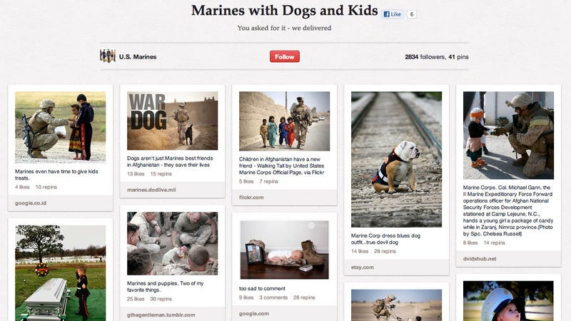 'Marines With Dogs and Kids' Will Bring You to Your Knees, Make You Beg for More