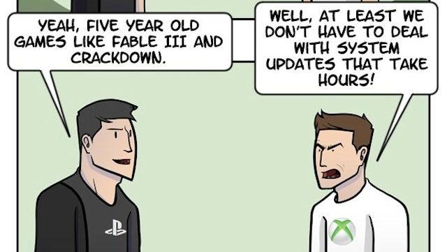 Así acaban siempre las discusiones entre fans de PS4 y Xbox One