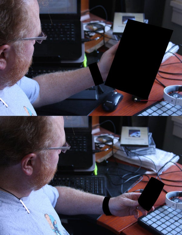 What Mysterious Device Is The CTO Of HP Playing With ?