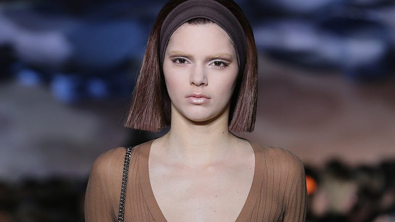 Kendall Jenner's Nipples Walk Marc Jacobs Runway, Internet Melts Down
