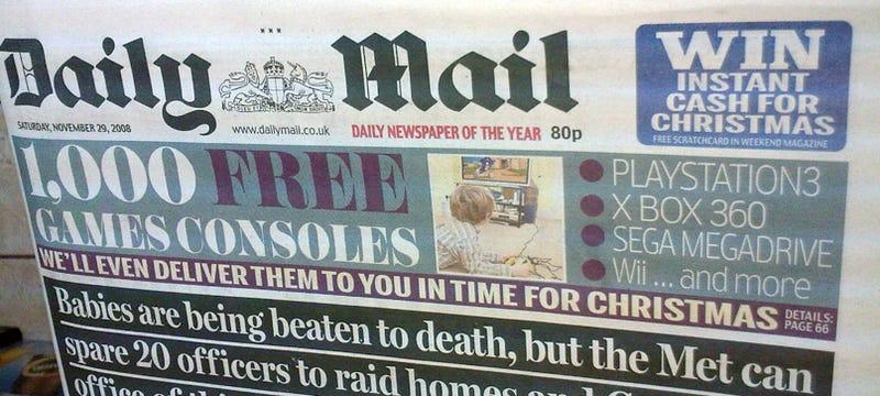 A Most Bizarre Newspaper Headline