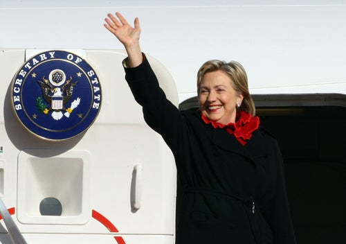 Hillary Clinton Isn't Down With TSA Junk Touching