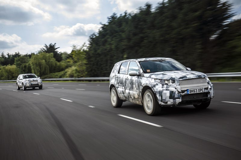 Watch These Land Rover Discovery Sport Prototypes Go Through Hell