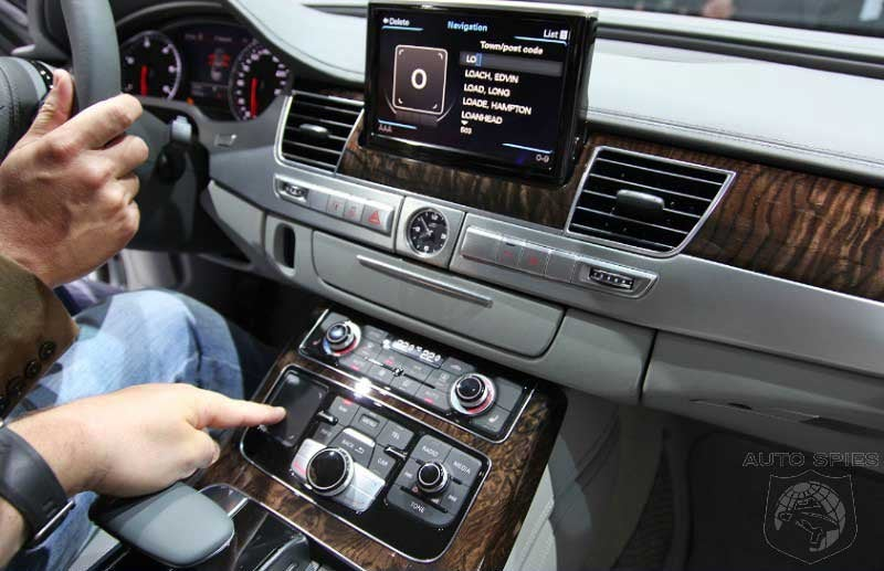 Audi New MMI Touch Input System Makes Perfect Sense