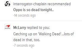 Oppo is so dead tonight.