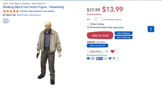 Pissed Mom Wants <i>Breaking Bad</i> Action Figures Off Toys 'R Us Shelves
