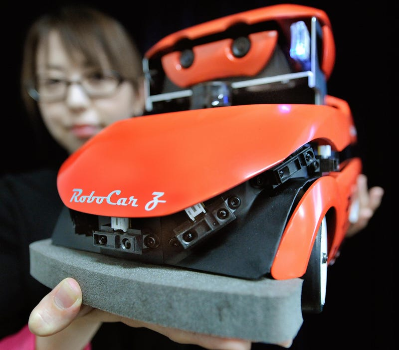 Japanese RoboCar Removes Need For Driver