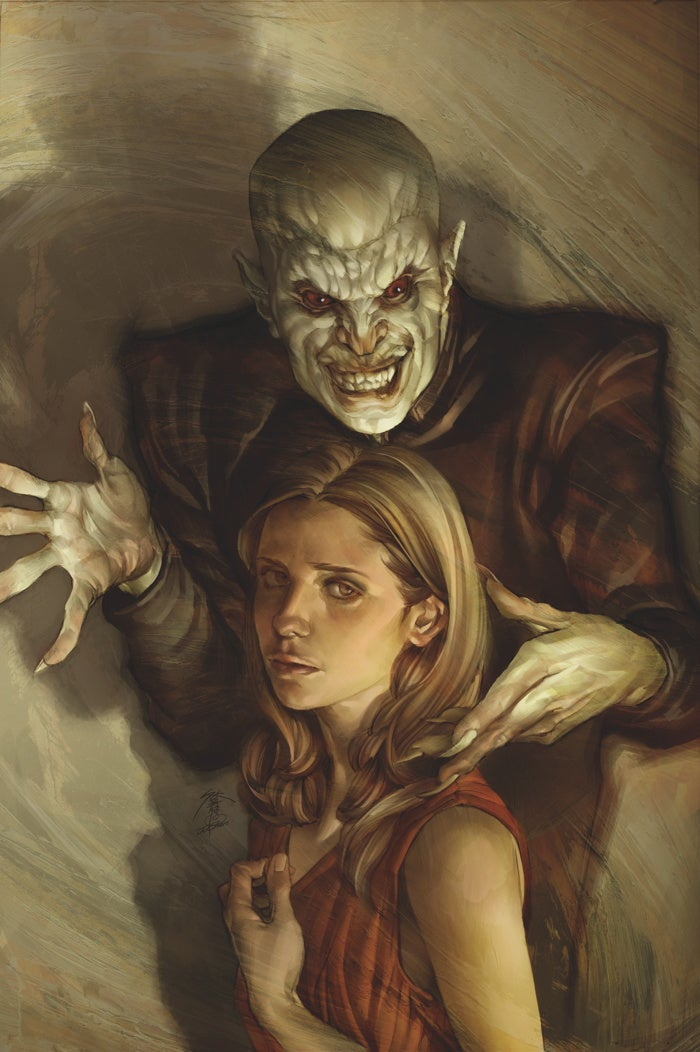 The secret revealed: Gaze into the face of Buffy's ultimate foe!