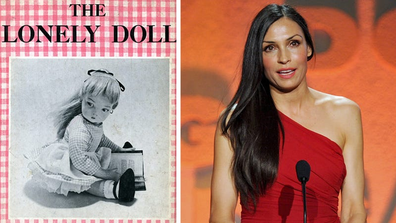 Someone Broke Into Famke Janssen's Home and Left a Weird Doll Book AAH