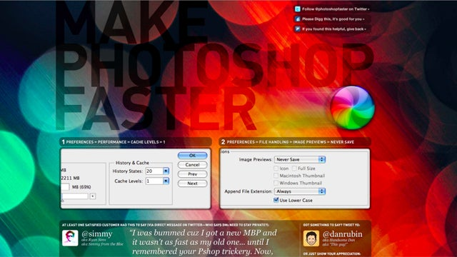 How to Make Photoshop Faster