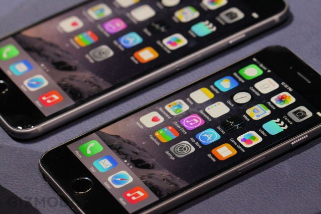 iPhone 6 Hands On: Getting Up to Size