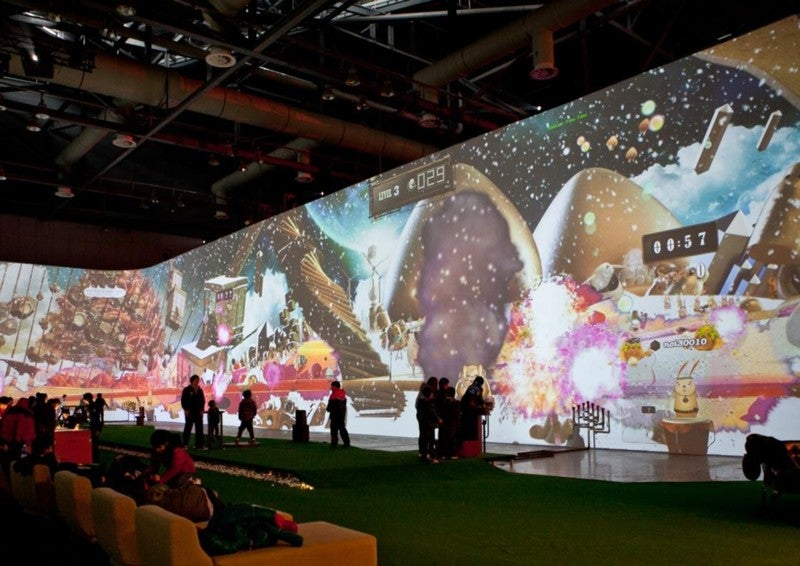 It's a Giant Kinect-Powered Theme Park