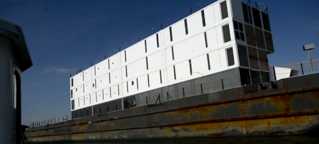 WSJ: Google's Barges Have Been Shut Down Over Fire Concerns