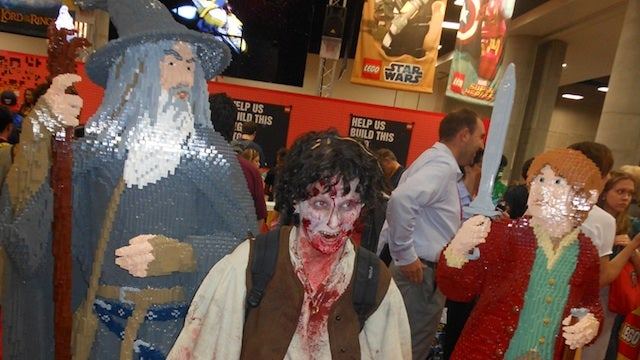 Has LEGO Bilbo met his match in zombie Frodo?