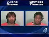 Women Caught Trying to Hide Stolen Goods Under Their Fat Rolls