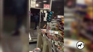 [VERY GRAPHIC] Horrifying Video of Man Beating a Woman Inside A Bodega