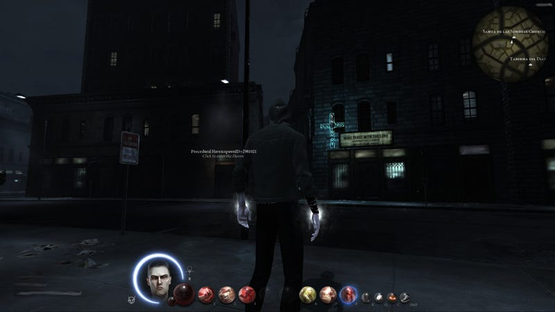 Appropriately Dark Screens From The Canceled World Of Darkness MMO