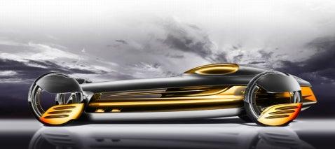 Design Challenge, Robocar 2057: Mercedes-Benz SilverFlow