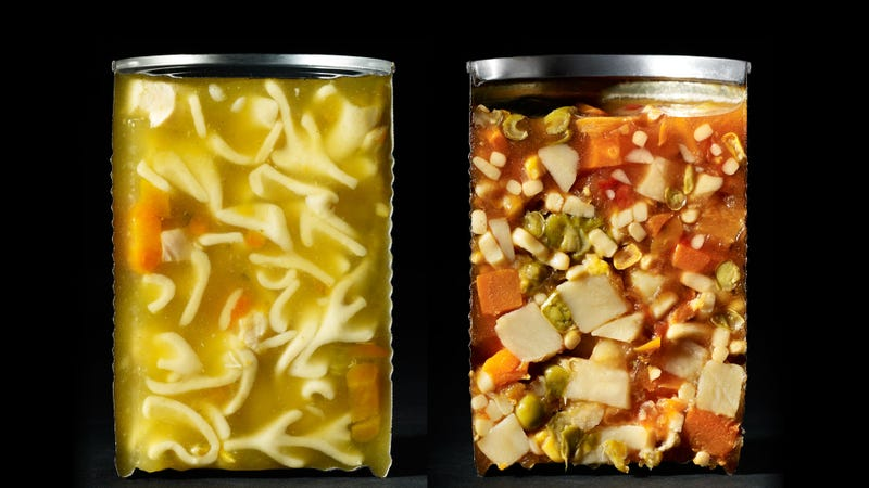 Convenience Food Looks Kinda Gross In Cross-Section