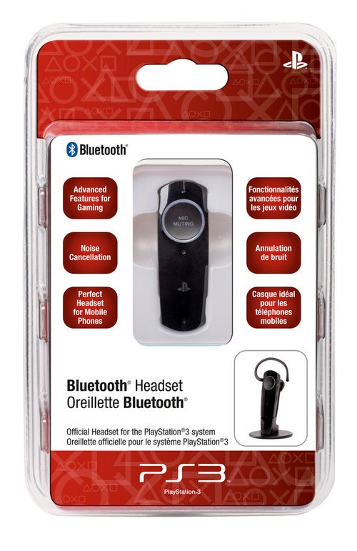 Check Out The New Official PlayStation 3 Bluetooth Headset