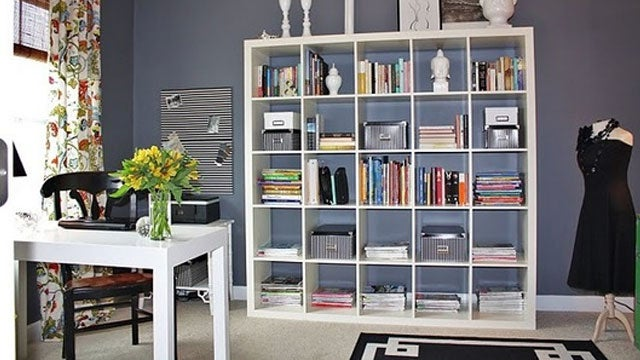 Less Desk and More Storage: A Grid of Organization