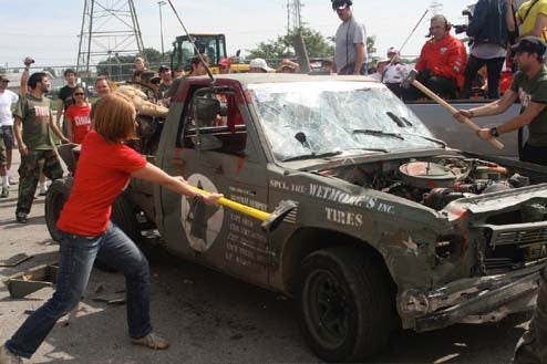 In Toledo, Team First Blood GMC Sonoma Takes People's Choice... And People's Curse!