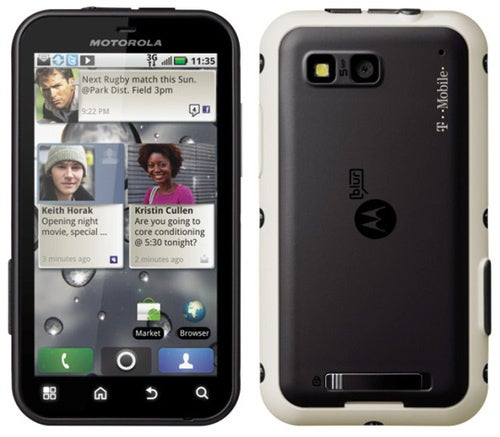 Motorola's Rugged Defy Android Phone Hitting T-Mobile Later This Year